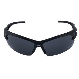 ROBESBON Authorized Outdoors Polarized Sunglasses Frameless Cycling Glasses Gray