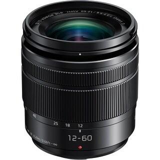 Panasonic Lumix G Vario 12-60mm f/3.5-5.6 ASPH. POWER O.I.S. Lens (Certified Refurbished)