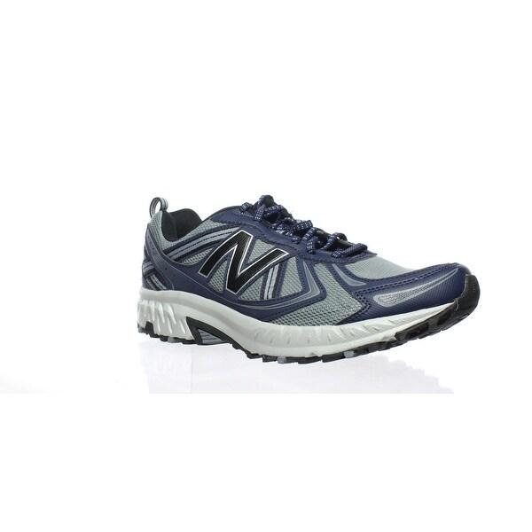 d9e13313597a0 Shop New Balance Mens Mt 410 V5 Grey/Blue Running Shoes Size 10.5 ...