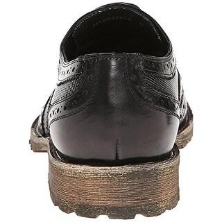 Joe's Mens Frank Oxfords Leather Wingtip