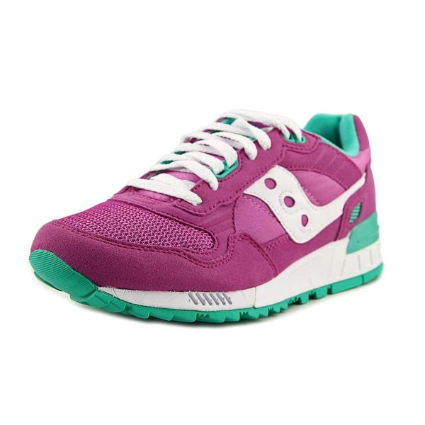 62832103d91c Shop Saucony Shadow 5000 Women Round Toe Suede Purple Running Shoe ...