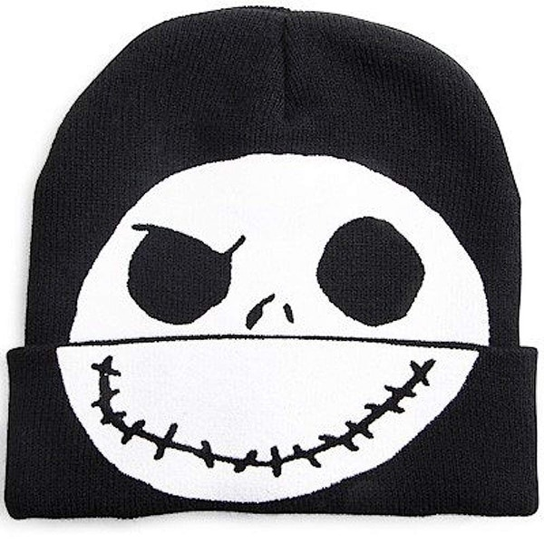 Shop Nightmare Before Christmas Jack Skellington Flip Down Beanie - Free  Shipping On Orders Over  45 - Overstock - 24314042 69a8323e9372