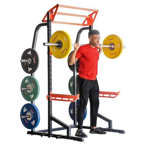 Sunny Health & Fitness Power Zone Half Rack - SF-XF9933