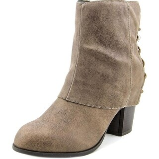 Fergalicious Trina Women  Round Toe Synthetic Brown Ankle Boot