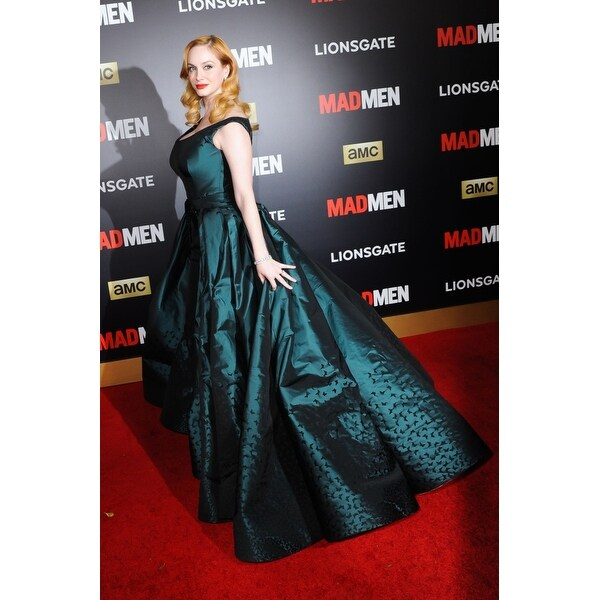 bb7075141c12 Shop Christina Hendricks At Arrivals For Mad Men & Amc Present The Black & Red  Ball The Music CenterS Dorothy Chandler Pavilion Los A - Free Shipping On  ...