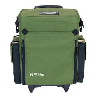 Elkton Outdoors Rolling Tackle Box Green|https://ak1.ostkcdn.com/images/products/is/images/direct/6d6a577736547472e0b4c2d674eb83038cf2f89a/Elkton-Outdoors-Rolling-Tackle-Box-Green.jpg?impolicy=medium