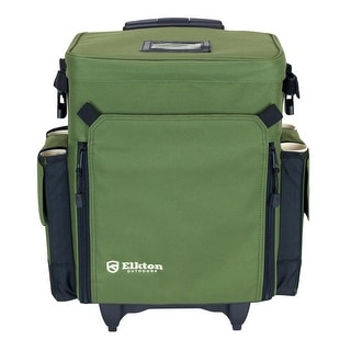 Elkton Outdoors Rolling Tackle Box Green  sc 1 st  Overstock & Tackle Boxes u0026 Bags For Less | Overstock.com Aboutintivar.Com