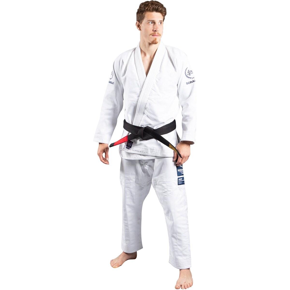 Scramble New Wave Brazilian Jiu-Jitsu Gi White