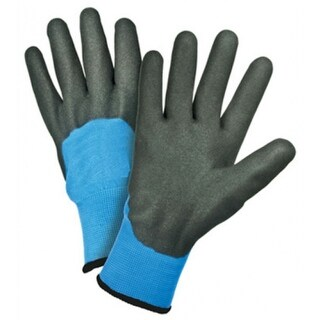 West Chester 93056/XL Thermal Sandy Nitrile Knuckle Dipped Gloves, X-Large