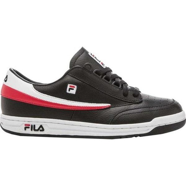 Original Tennis Black/White/Fila Red
