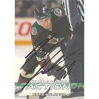 Krystofer Kolanos Phoenix Coyotes 2003 In The Game Action Autographed Card This item comes with a certificate of auth