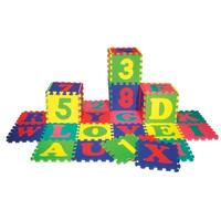 36 Piece Foam Floor Puzzle Mat For Kids Free Shipping On