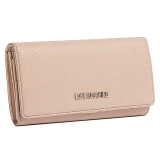 Moschino JC5543 0108 Turtle Dove Zip Around Envelope Wallet