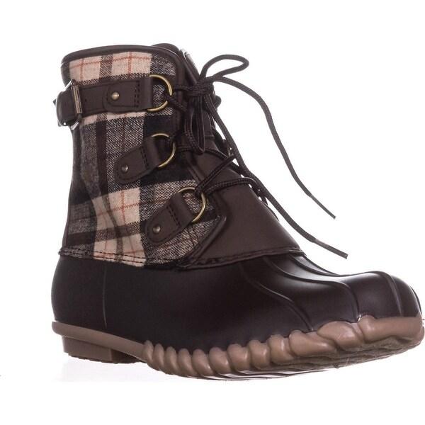 BareTraps Fahn Snow Boots, Dark Brown - 10 us