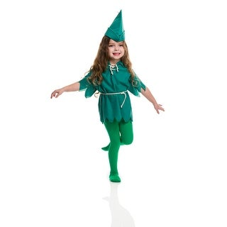 Toddler Peter Pan Halloween Costume size 2T-4T