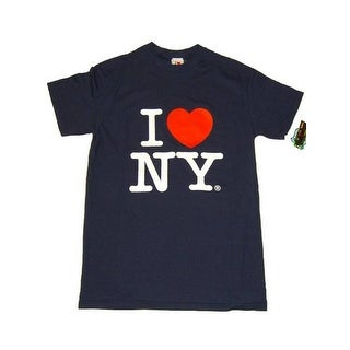 I Love NY T-Shirt - Size: Adult X-Large - Color: Navy