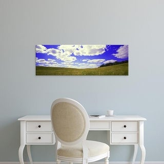 Easy Art Prints Panoramic Images's 'Field, Illinois, USA' Premium Canvas Art