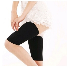 Thigh Flexible Slimming Wrap - Black