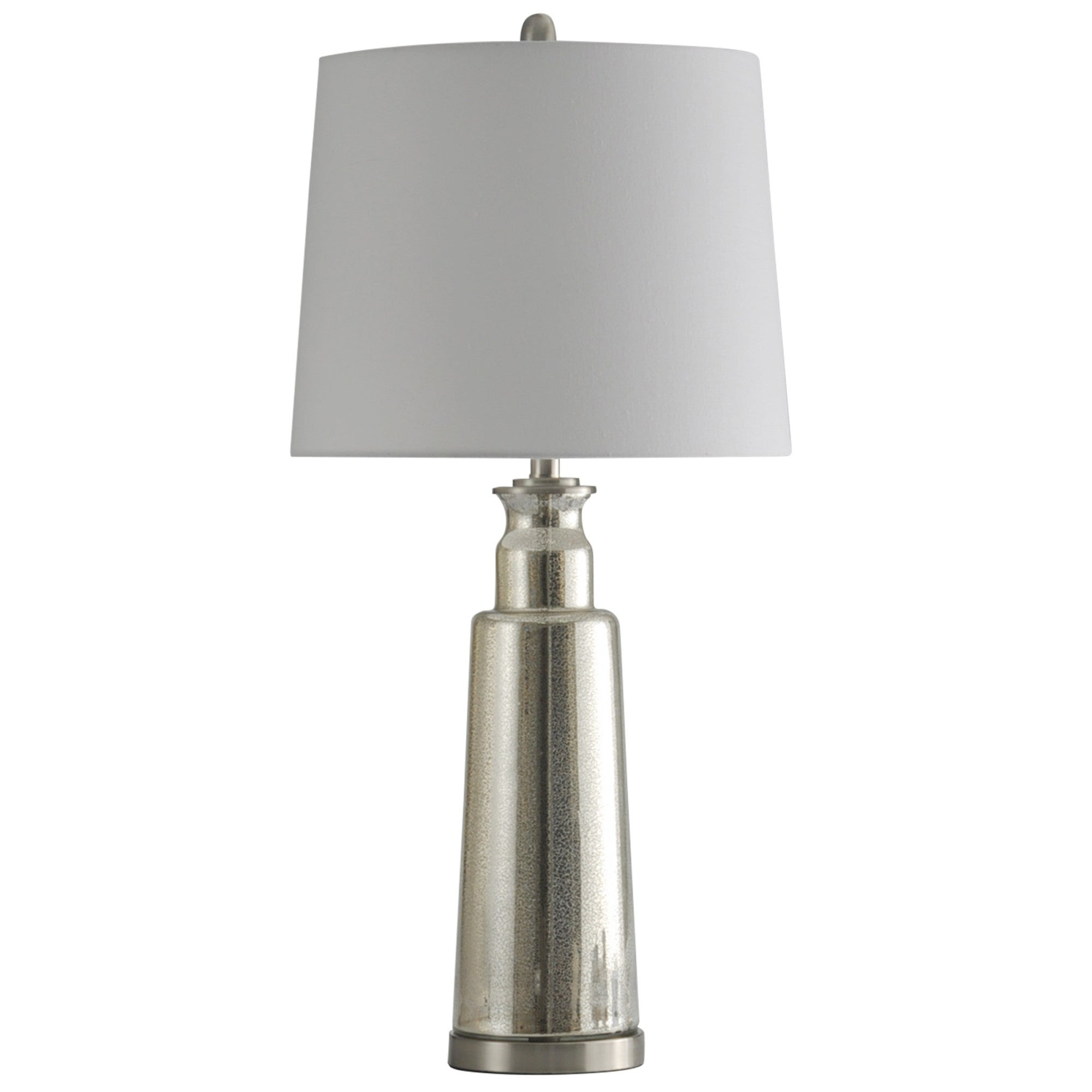 Delacora Sc L313850 Northbay 33 Tall Buffet Table Lamp With Hardback Fabric Shade Mercury Overstock 25651611