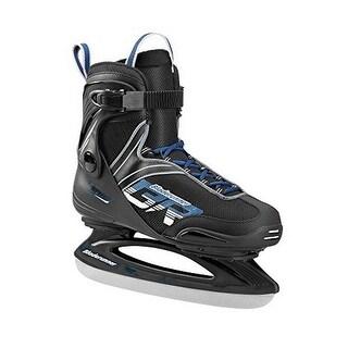 Bladerunner Mens Zephyr Ice Skate Ice Skates, Adult, Black/Light Blue