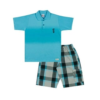 Boys Set Polo Shirt and Shorts Kids Outfit Pulla Bulla Sizes 2-10 Years