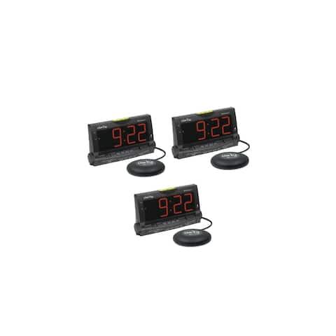 Clarity Wake Assure-3 Pack Loud Buzzer Alarm Clock