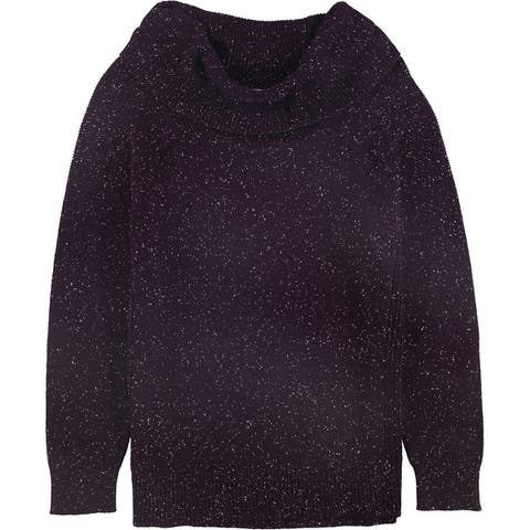 Calvin Klein Womens Mixed Stitch Pullover Sweater