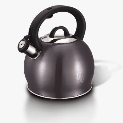 Berlinger Haus Stainless Steel Kettle 3.2 qt, Carbon Collection