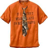 Legendary Whitetails Men's I'm Not Going Short Sleeve T-Shirt - Burnt Orange