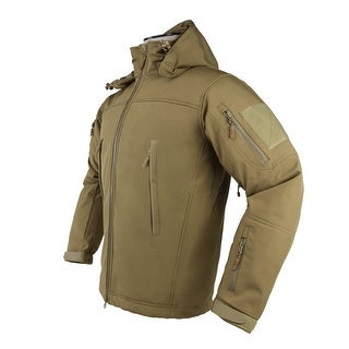 VISM by NcSTAR DELTA ZULU JACKET - TAN - MEDIUM