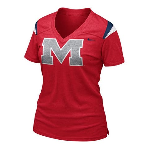 Nike Womens Mississippi Rebels Replica Graphic T-Shirt