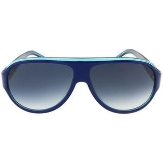 Lacoste L644S 424 Blue/Azure Aviator sunglasses