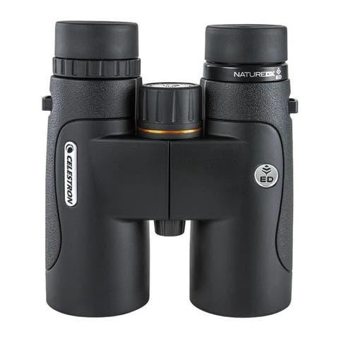 "Celestron 10x42 Nature DX ED Binoculars - 5.6"" x 5"" x 2.2"""