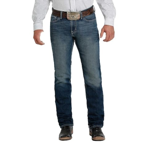 Cinch Western Jeans Mens Jesse Straight Leg Slim Fit