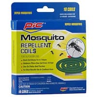 Pic C-10-12 Mosquito Repellant Coil, 10-Pack