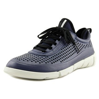 Ecco Intrinsic 1 Women Leather Blue Fashion Sneakers