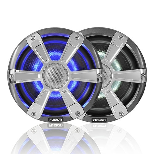 Fusion SG-FL77SPC Coaxial Sports Speaker for Marine Units with LED Illumination