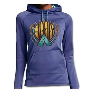 HOOey Western Sweatshirt Womens Arapaho Pullover Purple HH1133