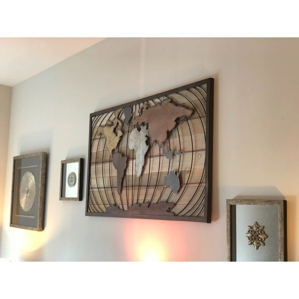 Shop Marco World Map Wall Decor - Free Shipping Today - Overstock ...