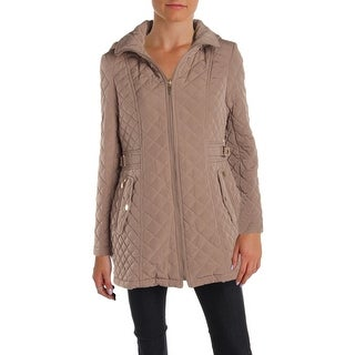 Gallery Womens Petites Quilted Coat Fall Anorak