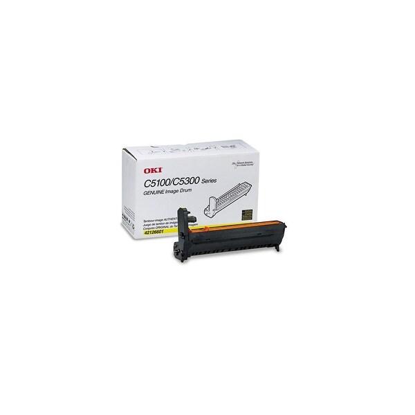 OKI 42126601 Drum Unit - Yellow Oki C6 Drum Cartridge - 15000 Page - 1 Pack - OEM