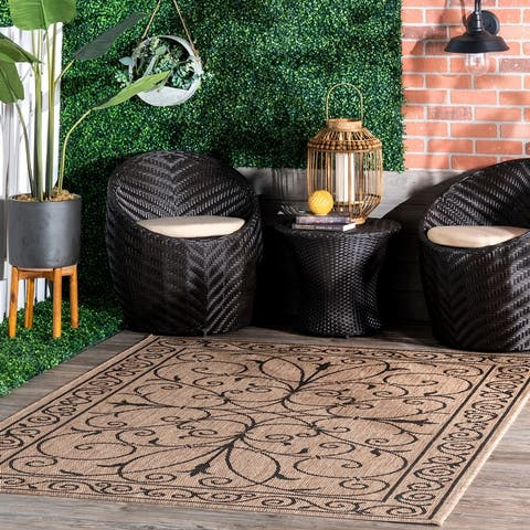 nuLOOM Outdoor/Indoor Area Rug