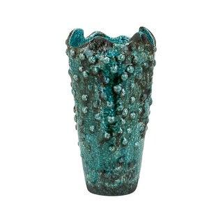 """IMAX Home 25725  Sasa 13"""" Tall Ceramic Vase - Green"""
