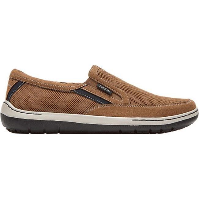 Dunham Men's FitSync Slip on Shoe,Grey,1