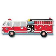 """Fire Engine - Jolee's By You Dimensional Embellishments 4""""X4"""" Sheet"""