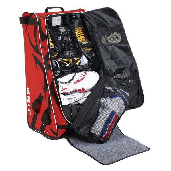 Navy Grit Inc HTFX Hockey Tower 36 Wheeled Equipment Bag Navy HTFX036-NY