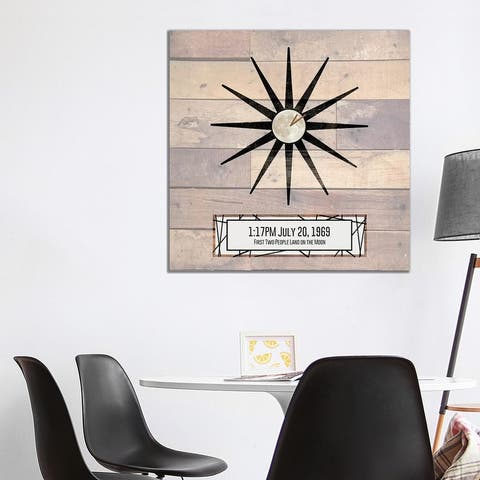 """iCanvas """"Moon Landing"""" by Front Porch Pickins Canvas Print"""