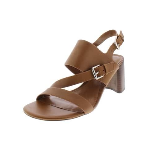 56fa2cc45 Lauren Ralph Lauren Womens Florin Dress Sandals Leather Slingback
