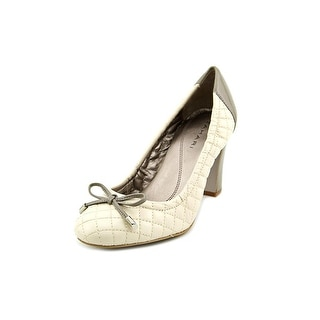 Tahari Lucile Round Toe Synthetic Heels