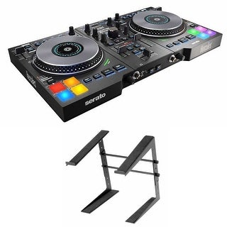 Hercules DJControl Jogvision with Laptop Stand